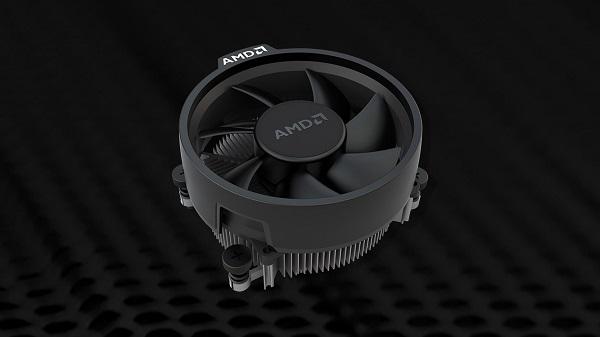The AMD Wraith Stealth Cooler