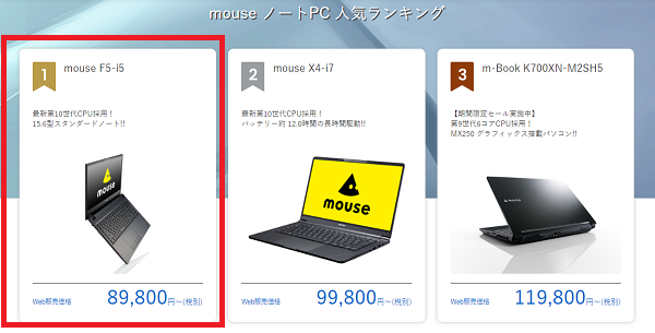 mouse-ranking